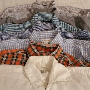 Lot of 8 Button Down Oxfords